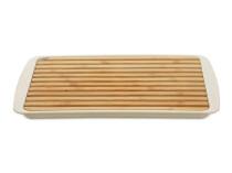 Brava Tocator din bambus cu palet Brava