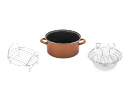 Stone Legend CopperLUX Cratita 24 cm Cook'n'bake