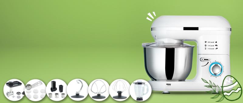 Robot de bucatarie Pro (Alb)
