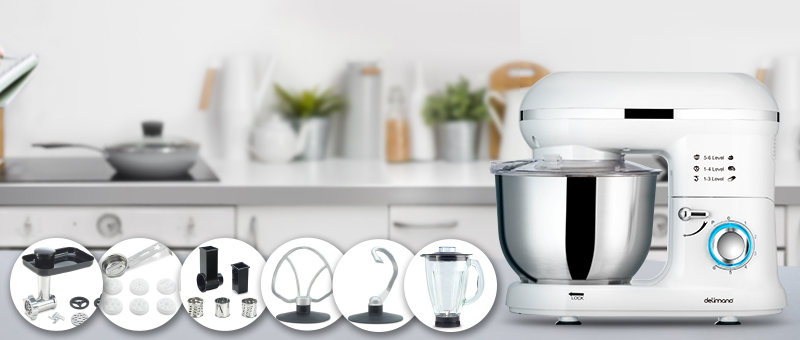 Robot de bucatarie Pro Delimano (Alb)