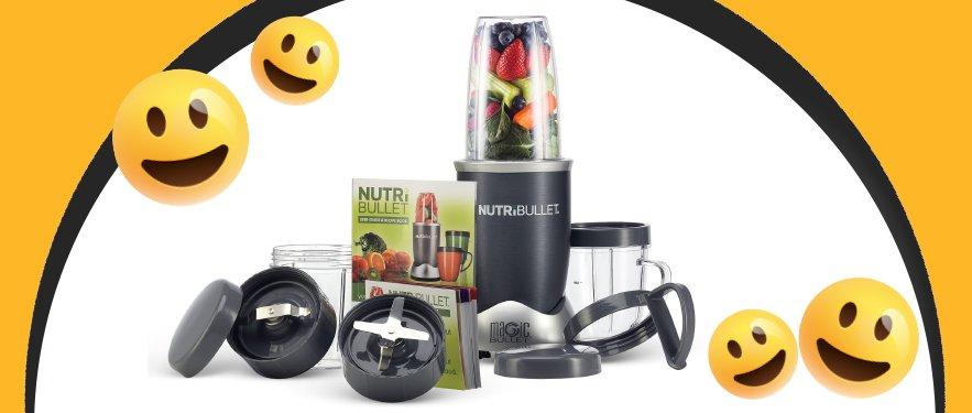 Extractorul de nutrienti Nutribullet 12 Piese