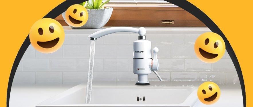 Robinet electric pentru incalzit apa acum cu -33% REDUCERE