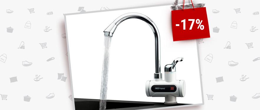 Robinet electric pentru incalzit apa Digital - Cel Mai Mic Pret!